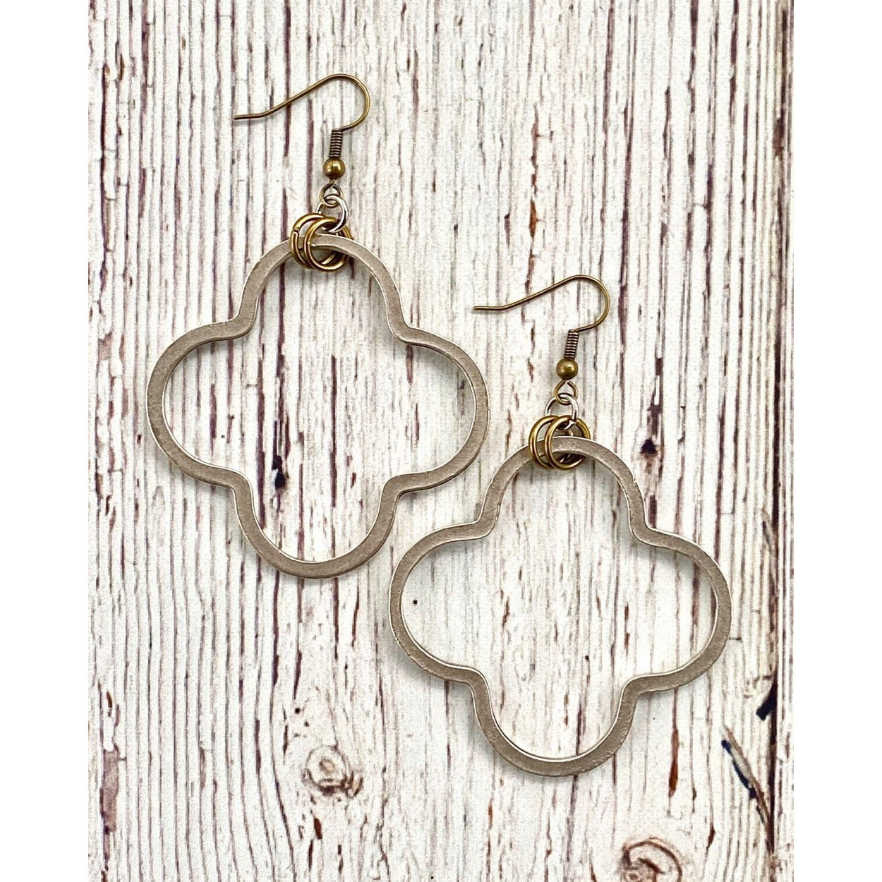 InspireDesigns Clover Earring Silver