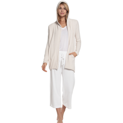 BAREFOOT DREAMS: the COZYCHIC ULTRA LITE® HOODED CARDI