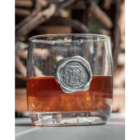 Bulldog Double Old Fashioned Glass