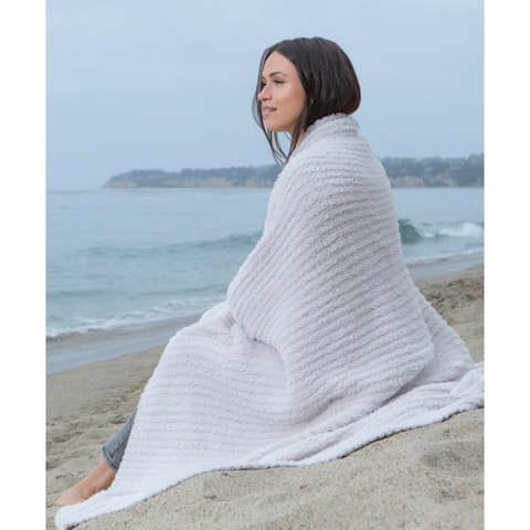 BAREFOOT DREAMS: the COZYCHIC® RIBBED THROW