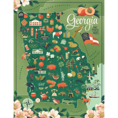TRUE SOUTH State of Georgia Puzzle