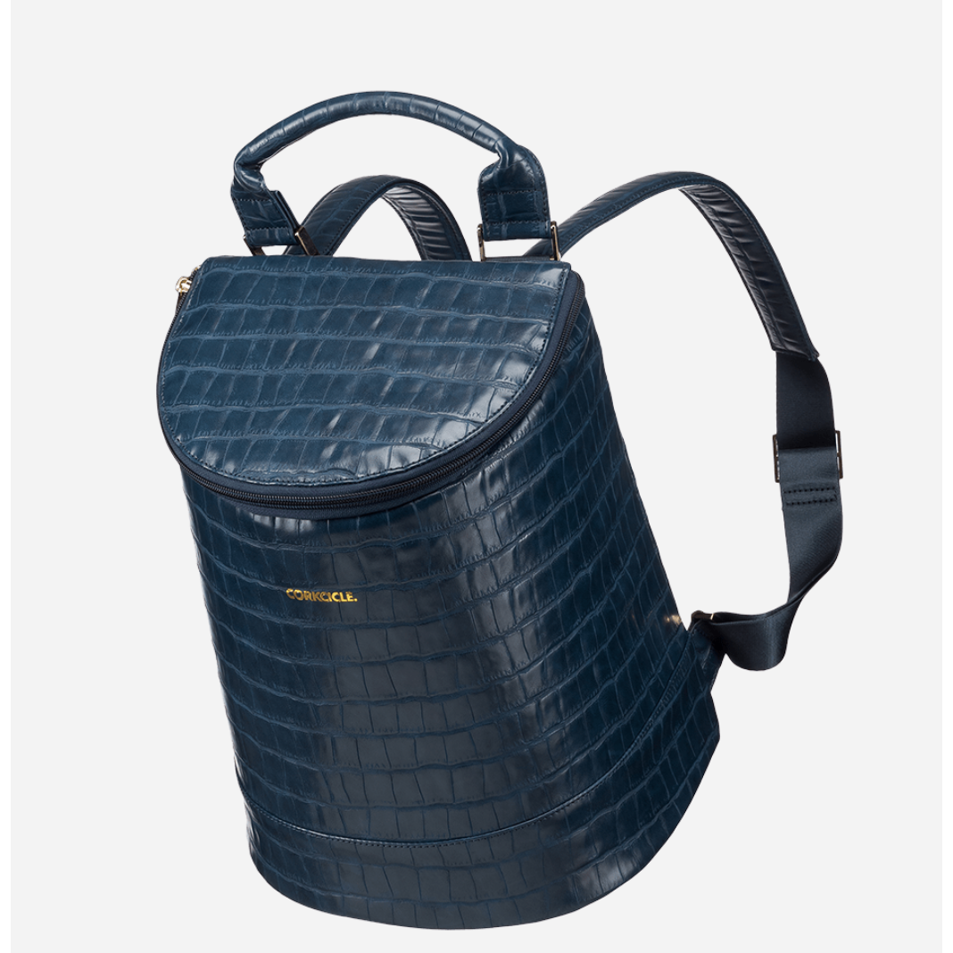 Corkcicle - EOLA BUCKET BAG - Navy Croc