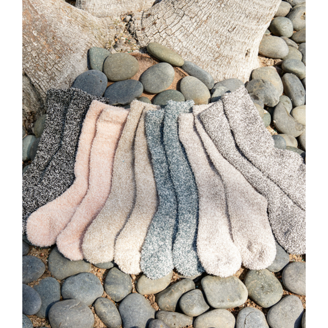the COZYCHIC® HEATHERED WOMEN'S SOCKS