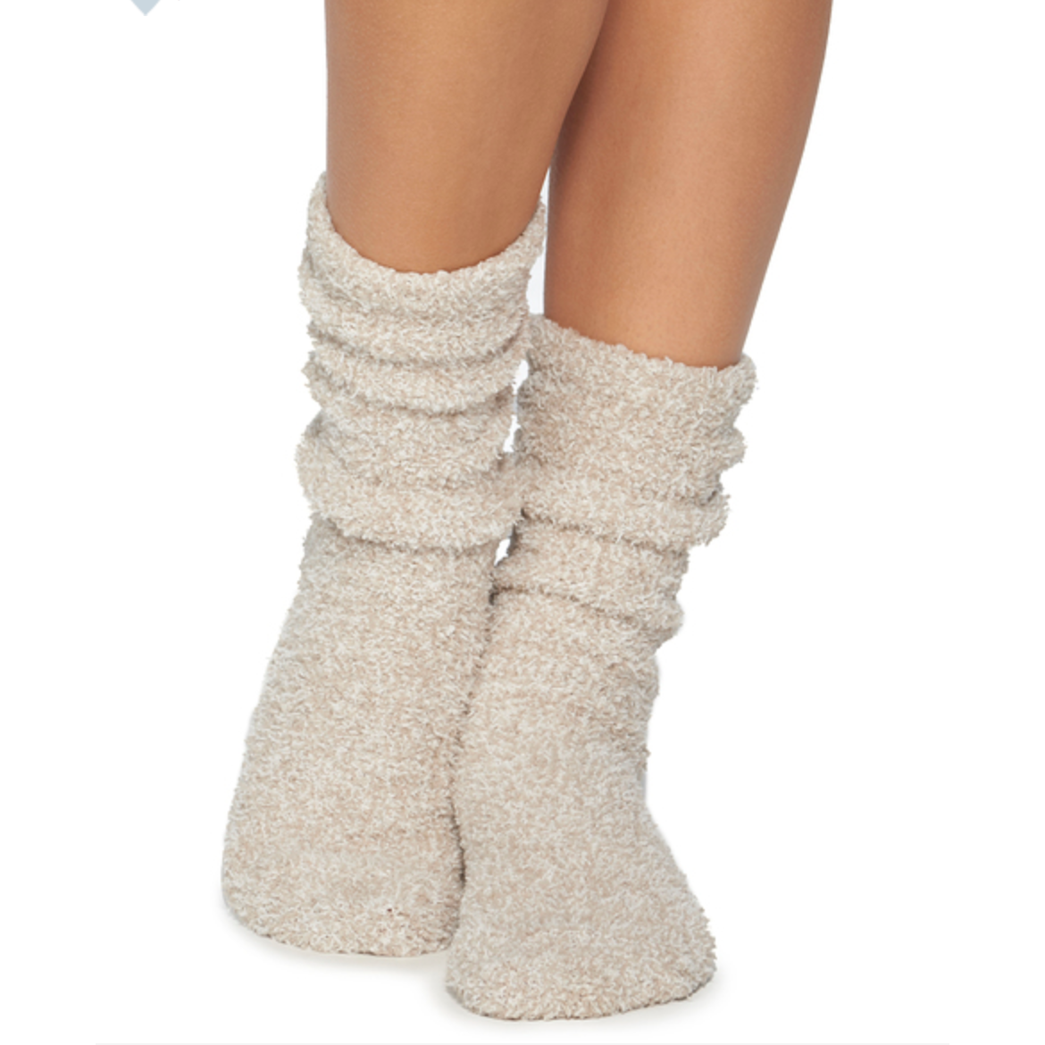 the COZYCHIC® HEATHERED OYSTER WOMEN'S SOCKS