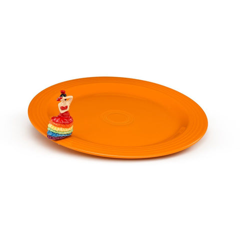 Nora Fleming - NEW! Fiesta Round Platter & Exclusive Mini