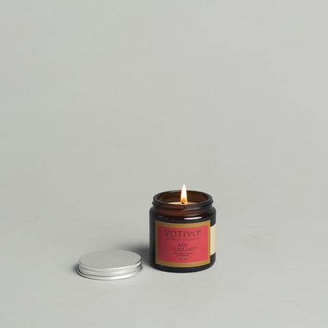 Votivo - 2.8 oz Aromatic Jar Candle Red Currant