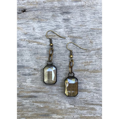 InspireDesigns - Crystal Iron Works Dangle Earrings