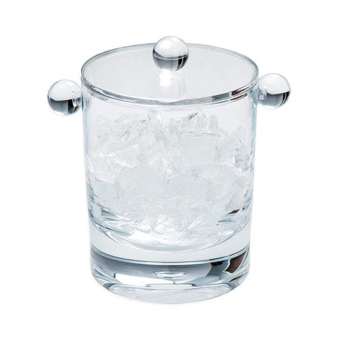Caspari - Acrylic 60oz Ice Bucket & Lid in Crystal Clear