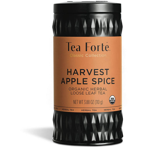 Tea Forte - HARVEST APPLE SPICE LOOSE LEAF TEA CANISTERS