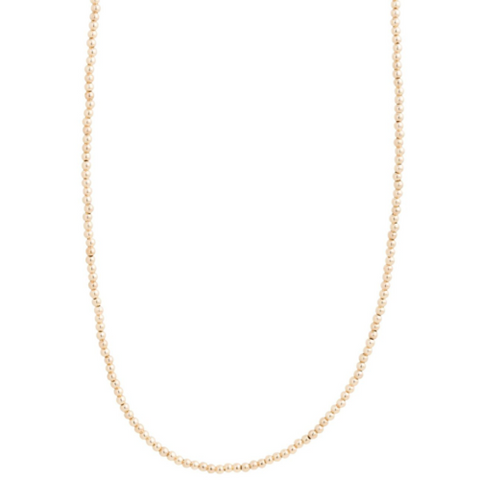 "enewton -  28.5"" necklace classic gold 3mm bead"