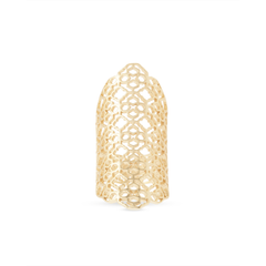 Kendra Scott - Boone Cocktail Ring in Gold, Front View
