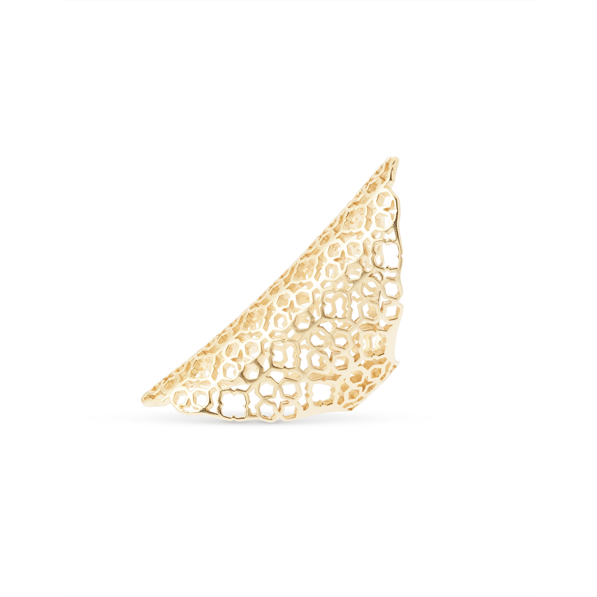 Kendra Scott - Boone Cocktail Ring in Gold, Side View