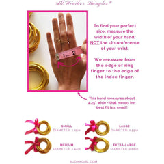 Budah Girl - THREE KINGS ALL WEATHER BANGLES®