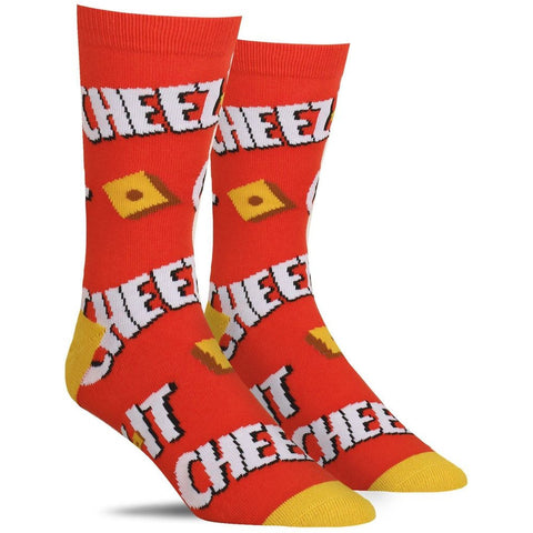 Cheez It Crew Socks