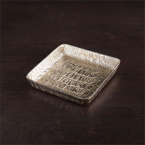 Beatriz Ball - Sierra Croc Napkin Box Gold