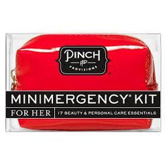 Pinch Provisions - Good Luck (Red/Fortune Cookie) Minimergency Kit, Front View