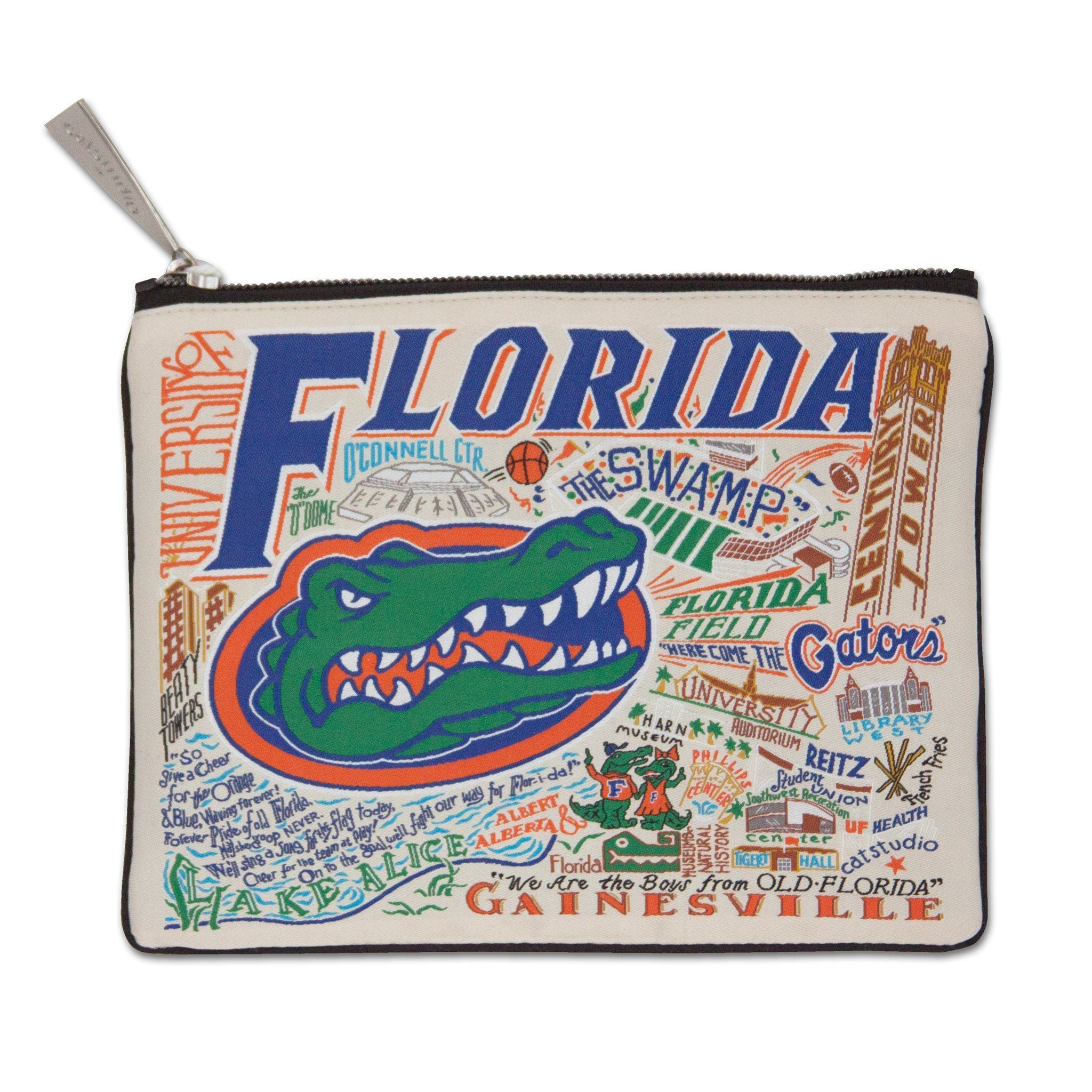 Catstudio Collegiate Zip Pouch - the University of Florida