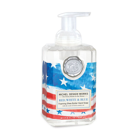 Red, White and Blue Foaming Soap