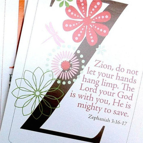 ABC Scripture Card