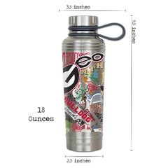 Catstudio Collegiate Thermal Bottle - Auburn