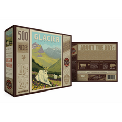 True South - Glacier National Park Puzzle