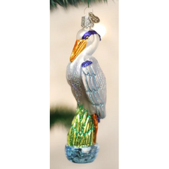 Old World Christmas - Great Blue Heron Ornament