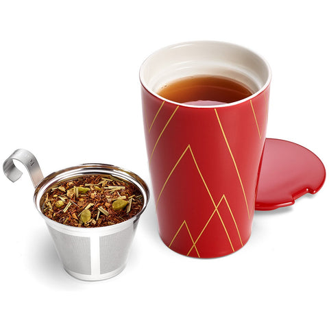 Tea Forte - KATI STEEPING CUP & INFUSER WARMING JOY