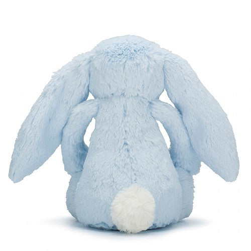 JELLYCAT Bashful Blue Bunny Back View
