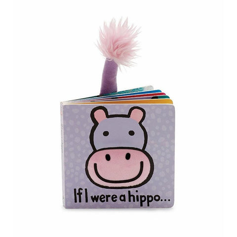 Jellycat Board Book - If I Were a Hippo