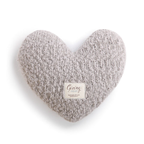 The Giving Heart pillow
