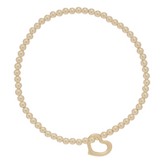 enewton designs open heart gold bead bracelet