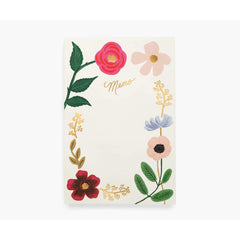 Rifle Paper CO. - Large Memo Notepad - WILDFLOWERS