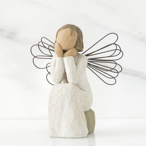 Willow Tree - Angel of Caring, Front View