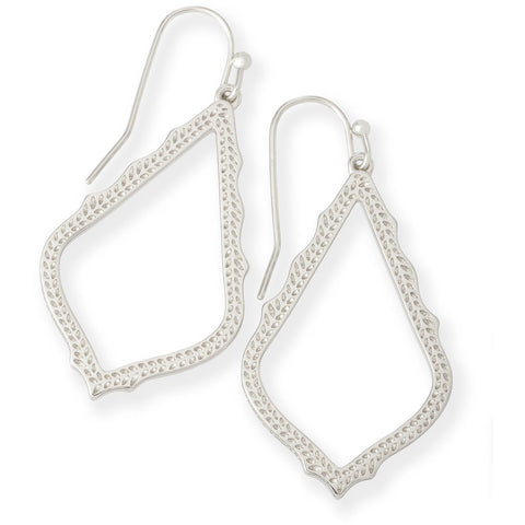 Kendra Scott - Sophia Drop Earrings in Silver
