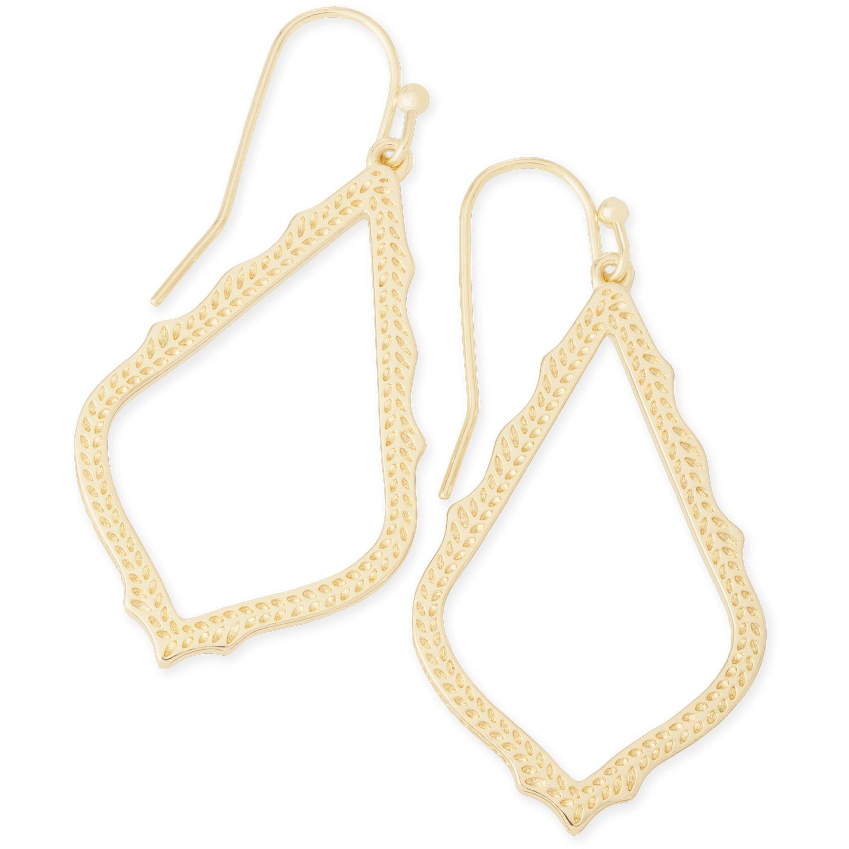 Kendra Scott - Sophia Drop Earrings in Gold, Front View