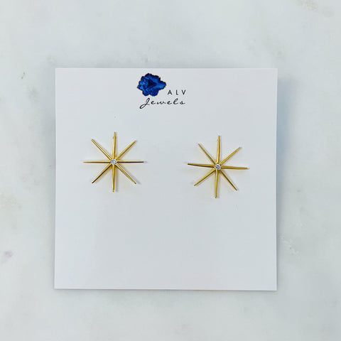 ALV JEWELS - SHINE BRIGHT STUDS
