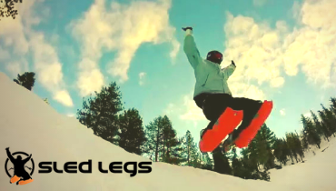 Sled Legs - The newest way to have fun on snow