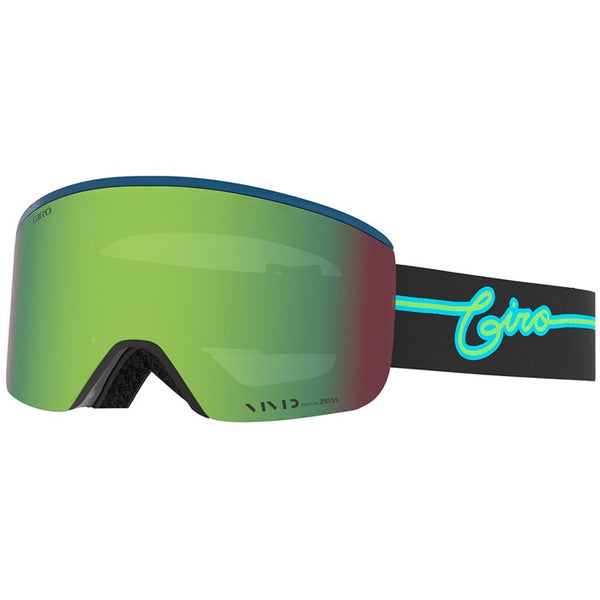 Giro Axis Blue Neon Lights
