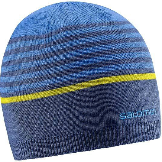 SALOMON STRIPE REV BEANIE