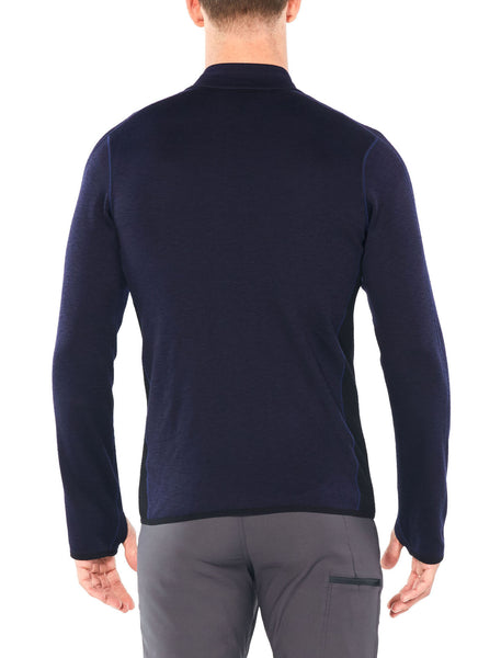 Icebreaker Mens Elemental LS Zip