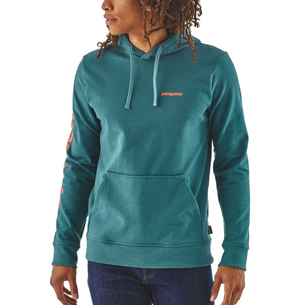 Patagonia Mens Text Logo Uprisal Hoody