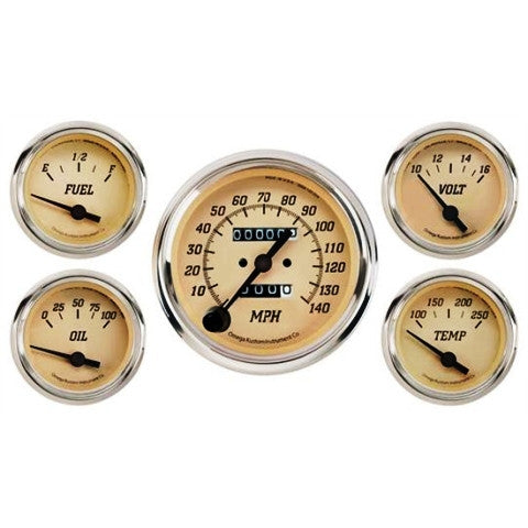 Omega Kustom Tan Gauge sets