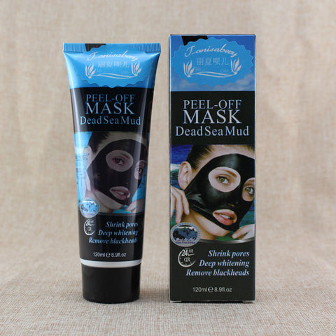 Blackheads Shrink Pores Deep Whitening Dead Sea Mud Peel Off Mask