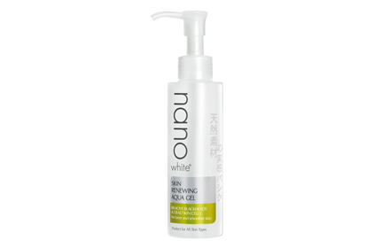 Nano White Skin Renewing Aqua Gel 140ml