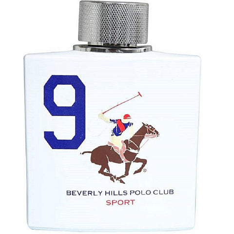 POLO CLUB Beverly Hills Polo Club Sport No 9 Eau De Toilette - 100 Ml (For Men)