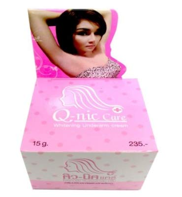 Q-Nic Care Whitening Dark Spot Underarm Armpit Bikini Liquor ice Herb Spa 15g by LTB