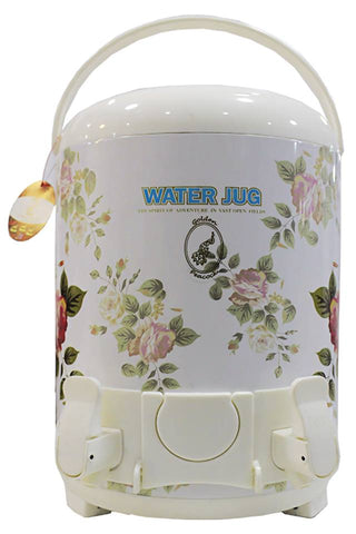 S.H Crockery Water Cooler 14 Ltr Creamy white