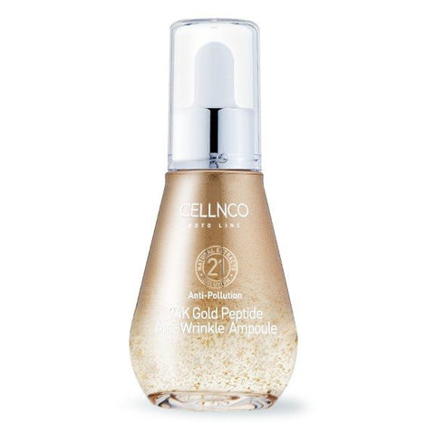 CELLNCO 24K Gold Peptide Anti-Wrinkle Ampoule 50ml