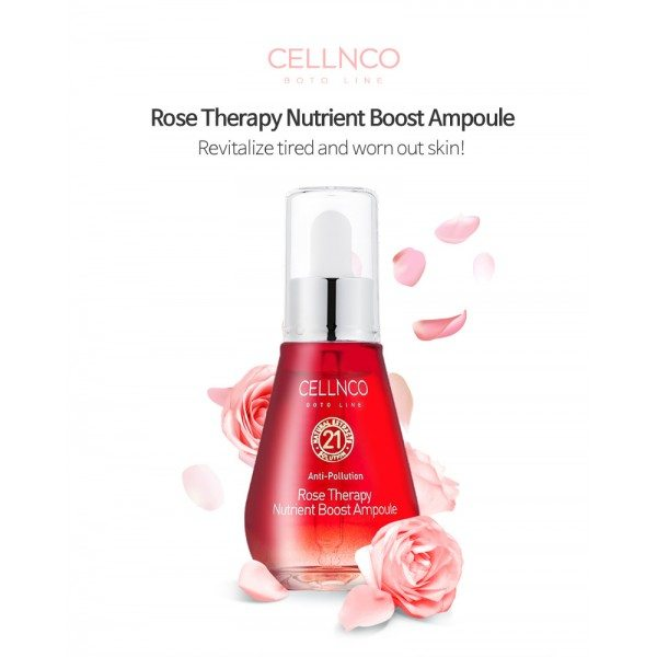 CELLNCO Rose Therapy Nutrient Boost Ampoule 50ml