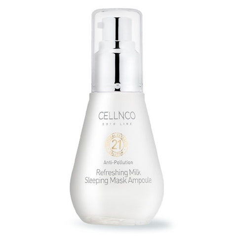 CELLNCO Anti Pollution Refreshing Milk Sleeping Mask Ampoule 50ml